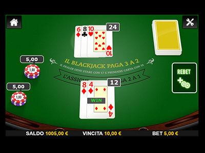 il blackjack di Big