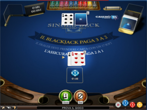 il blackjack di Casino YES