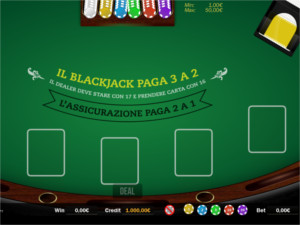 il blackjack di Stanleybet